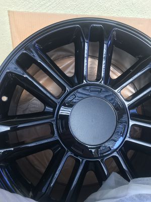 Black chrome set of 4 RIMS BRAND New Never been used for Sale in Mountain View, CA