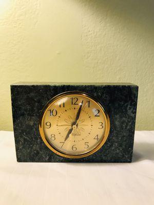 Vintage 1950's era Telechron Alarm Clock , Green Marble for Sale in Oakland Park, FL