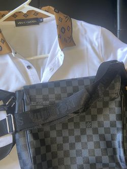 Louis Vuitton Shirt & Messenger Bag for Sale in Washington,  DC
