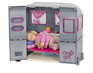 large TOY RV CAMPER girls kids with Accessories NEW for Sale in Los Angeles, CA