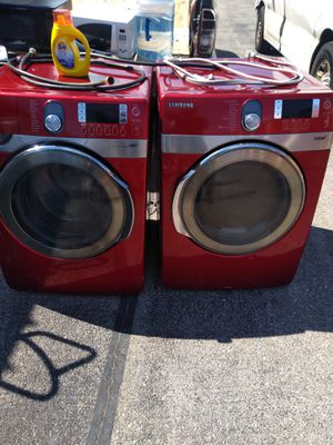 Samsung steam washer and dryer set for Sale in District Heights, MD