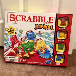 Scrabble Junior Game for Sale in Los Angeles, CA