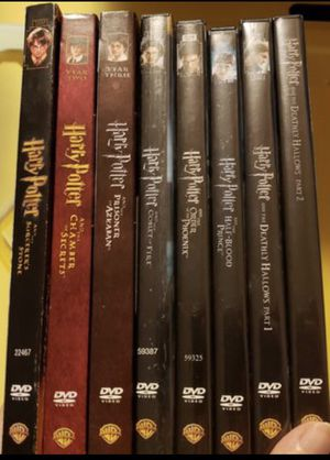 Harry Potter Complete 8-Film Collection, Disney marvel Harry Potter DC movies Bluray and dvd collectibles for Sale in Everett, WA