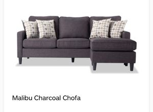 Almost brand new charcoal sofa for Sale in Washington, DC