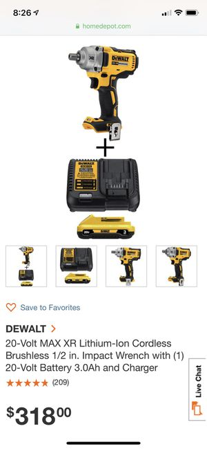 2 Dewalt impact wrench drills for Sale in Aspen Hill, MD