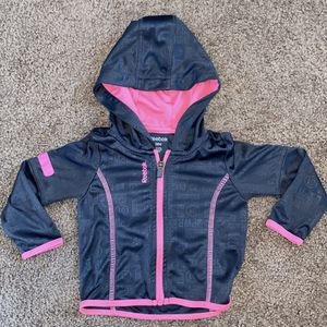 Gray/Pink Reebok Jacket for Sale in Oklahoma City, OK