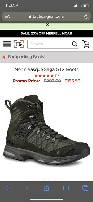 Men's hiking boots for Sale in Glendale, AZ