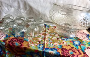 Vintage Punch Bowl Set for Sale in Longview, TX