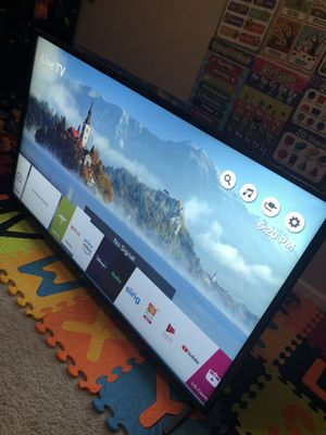 "LG 49"" 4K UHDTV HDR for Sale in San Jose, CA"