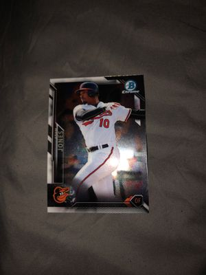 2016 bowman chrome Adam Jones baseball card for Sale in Westminster, CA