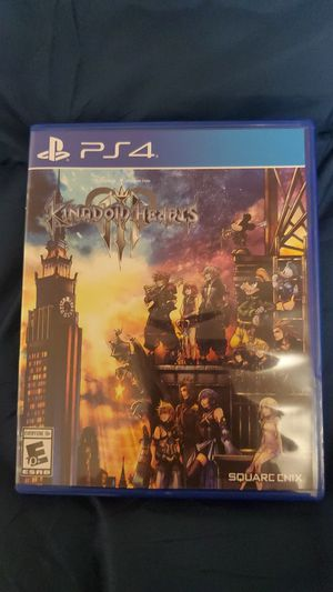 Kingdom Heart 3 PS4 for Sale in Fresno, CA