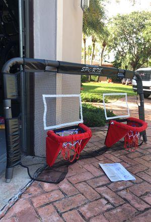 Trampoline basketball hoop for Sale in Hialeah, FL