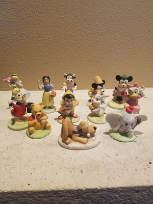 Disney vintage porcelain figurines for Sale in Fairview, OR