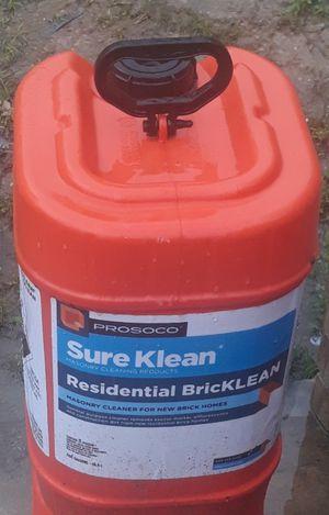 Acido muratico para lavar ladrillo y piedra for Sale in Houston, TX
