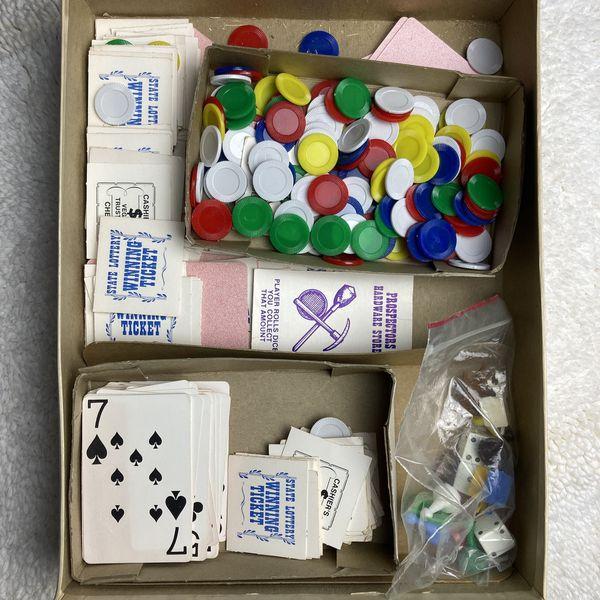 Board Game: Weekend in Vegas 1974 - Research Games, Inc.