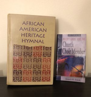 Hymnal and choir guide for Sale in Silver Spring, MD