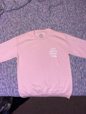 Anti Social Social Club Pink Sweatshirt for Sale in Hobe Sound, FL
