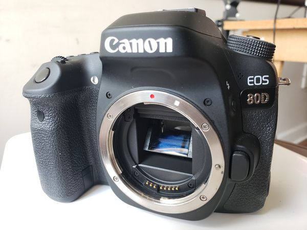Canon 80d body in excellent condition