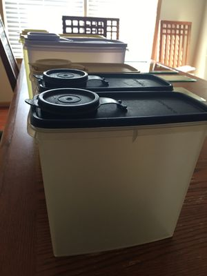 Tupperware Cereal Storage Containers for Sale in Blacklick, OH
