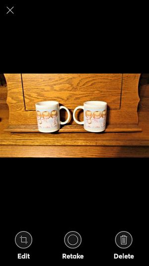 Pair Hallmark Gourmet Gifts Christmas Angel Musician Mugs We are pleased to offer these adorable coffee mugs manufactured by Hallmark Gourmet Gifts for Sale in Lynchburg, VA