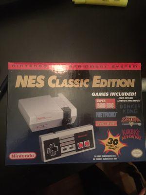Nintendo NES Classic Mini edition for Sale in Philadelphia, PA