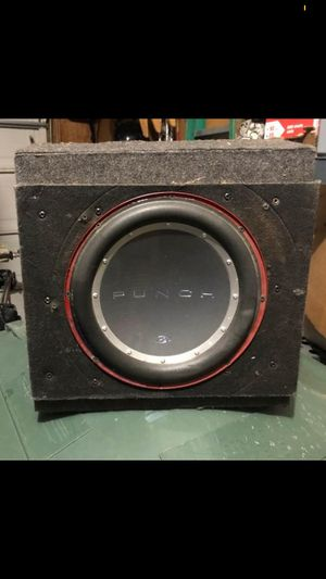 "12"" punch P2 for Sale in Columbus, OH"