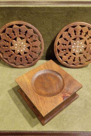 3 pc. Wood Set for Sale in Mechanicsburg, PA