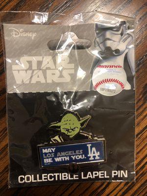 Disney Dodgers Star Wars Pin for Sale in Baldwin Park, CA