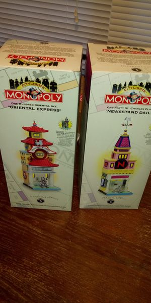 Citylights Monopoly Department 56 Collection New for Sale in Smyrna, DE