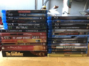Must Sell Blu Ray Movies DVD's Digital Codes Excellent Condition for Sale in Santee, CA