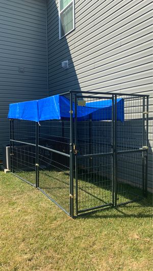 6ft. x 10ft. x 6ft. Outdoor Dog Kennel for Sale in Glen Raven, NC