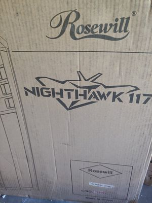 ROSEWILL ATX Full Tower Gaming Computer Case, Supports up to 420mm Long VGA Card, 5 Fans Pre-installed, Fan Speed Control - NIGHTHAWK 117 for Sale in Long Beach, CA