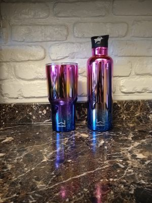Matching Rainbow Stainless Tumbler/water bottle for Sale in Horton, MI