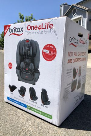 Britax One4Life ClickTight All-In-One Convertible Car Seat for Sale in Elk Grove, CA