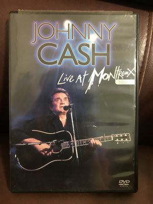 Johnny Cash - Live at Montrenx 1994 (DVD, 2005) 6-PAGE INSERT IS INCLUDED, like New for Sale in Murfreesboro, TN