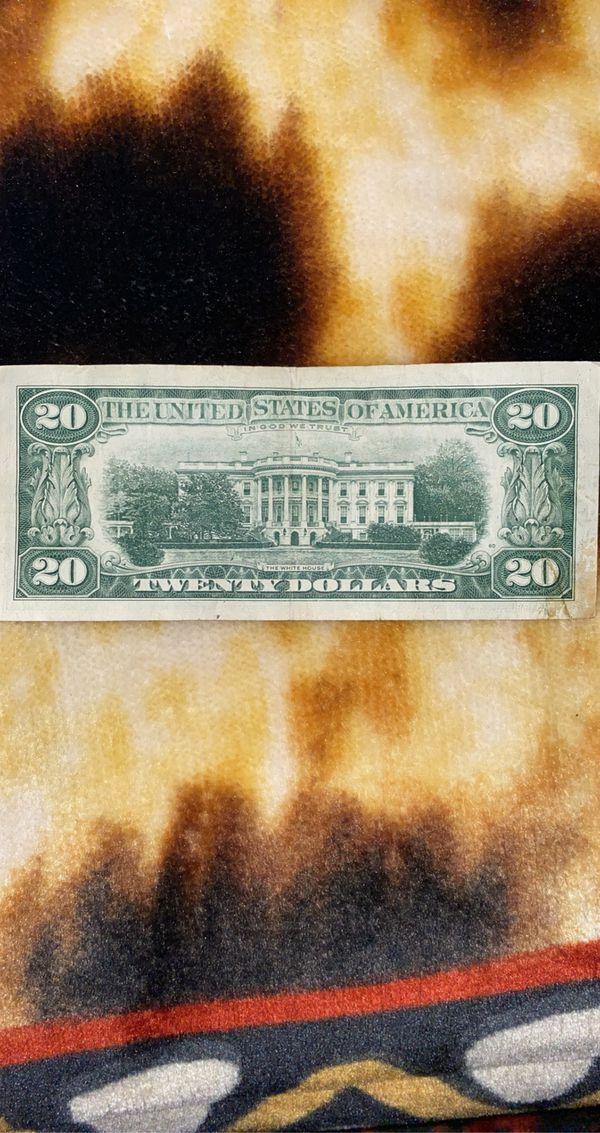 1963 B 20 DOLLAR BILL (VINTAGE)