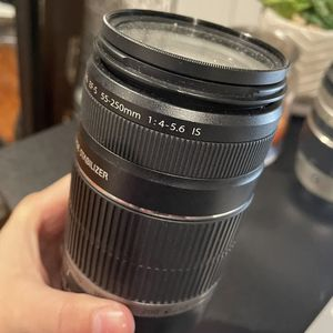 Canon Lens 55-250 mm for Sale in Bethpage, NY