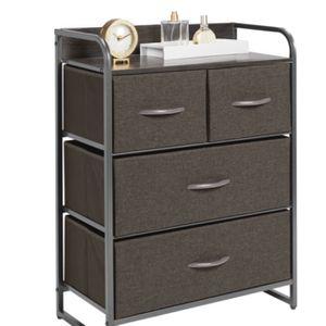 mDesign Wide Dresser Storage Chest, 4 Fabric Drawers for Sale in Smyrna, GA