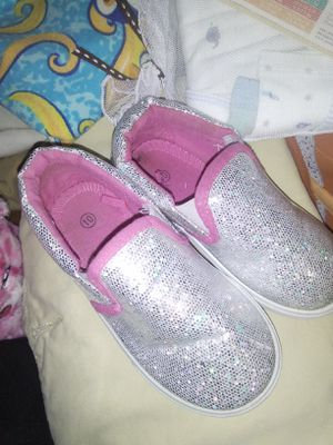 Slip on's size 10 lil baby girls for Sale in Pueblo, CO