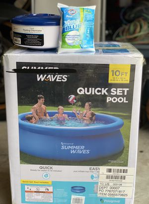 Summer Waves Inflatable Pool for Sale in Ashburn, VA