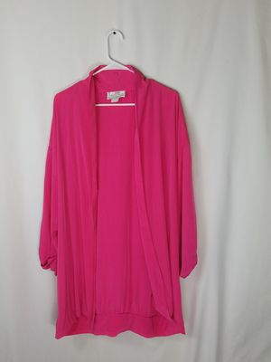Hot Pink Long Sleeve Jacket X-Large for Sale in Sacramento, CA