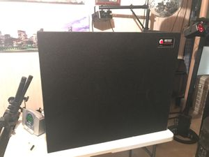 Portable DJ equipment stand holds laptop/mixer for Sale in New Lenox, IL