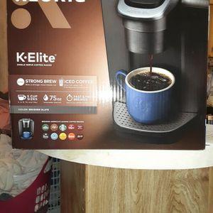 Keurig K-Elite for Sale in Wichita, KS