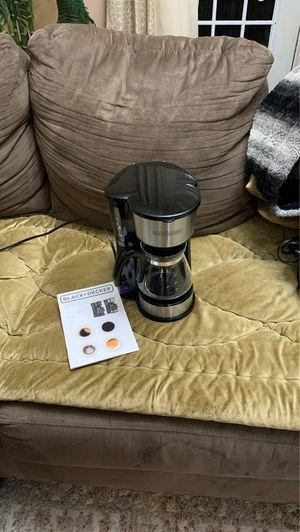 Black and decker coffee maker for Sale in Boston, MA