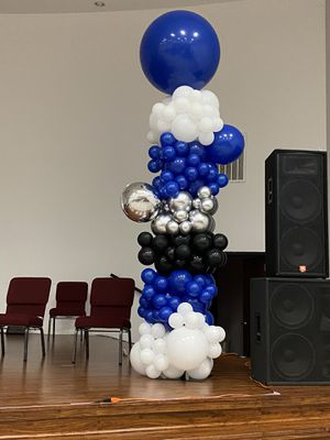 12 Ft Organic Balloon Towers for Sale in Houston, TX