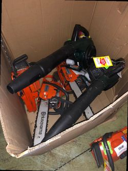 Chainsaw and blowers 87 L for Sale in China Spring,  TX