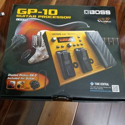 Boss GP-10 with GK-3 Pickup for Sale in Jenkintown,  PA