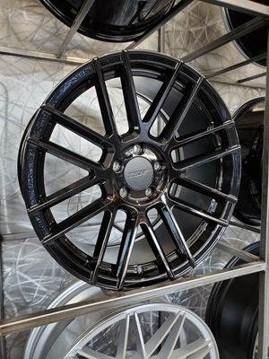 18x8.5 TSW Mosport gloss black available for ford focus vw gti Jetta golf gli BMW Infiniti rim wheel tire shop for Sale in Tempe, AZ