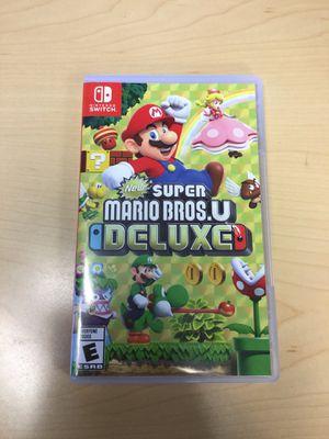 New Super Mario Bros. U Deluxe for Sale in Greenwood Village, CO