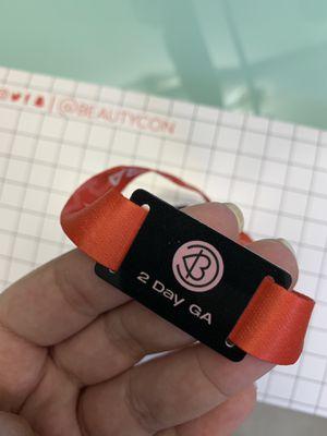 Beautycon Ticket/Wristband for Sale in Hacienda Heights, CA